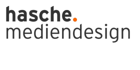 Logo hasche.mediendesign