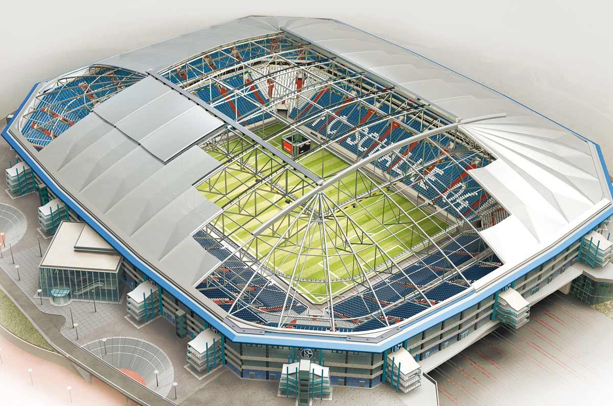 Veltins Arena 3d